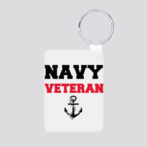 Navy Veteran Keychains