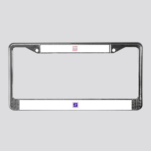 a day without License Plate Frame