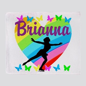 CUSTOM SKATER Throw Blanket
