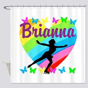 CUSTOM SKATER Shower Curtain