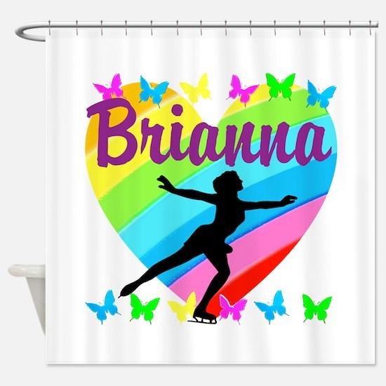 CUSTOM SKATER Shower Curtain