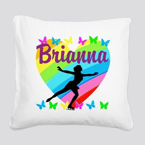 CUSTOM SKATER Square Canvas Pillow