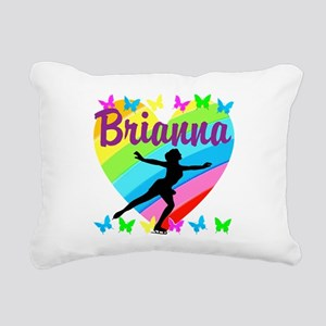 CUSTOM SKATER Rectangular Canvas Pillow
