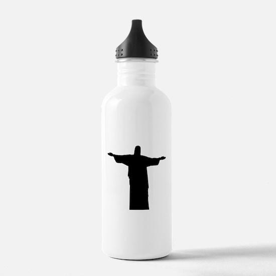 Christ the redeemer st Water Bottle