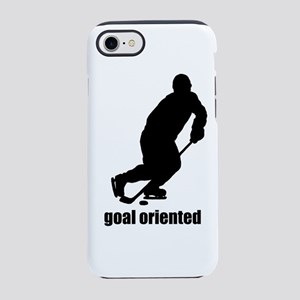 Goal Oriented Hockey iPhone 8/7 Tough Case