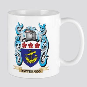 Davydenko Coat of Arms - Family Crest Mugs