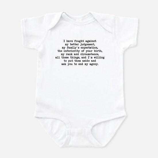 Fought Against Judgement - Darcy Infant Bodysuit