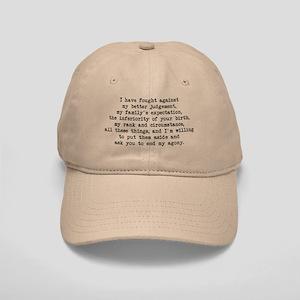 Fought Against Judgement - Darcy Cap