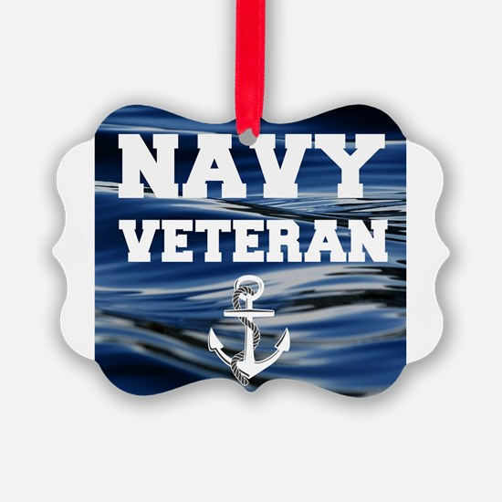 Navy Veteran Ornament