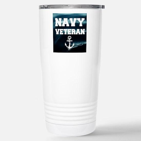 Navy Veteran Travel Mug