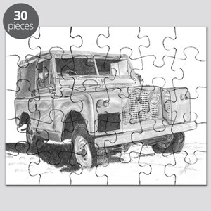 Land Rover Series 2 by Lea Sapsford Puzzle