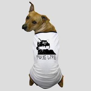 Cat Thug Life Dog T-Shirt
