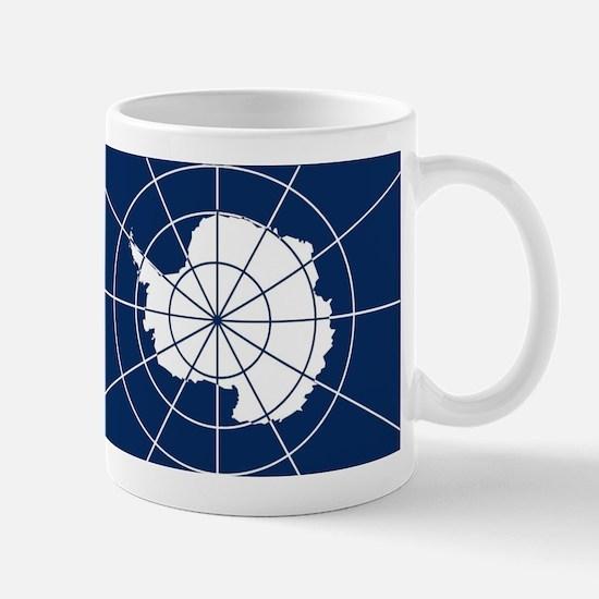Flag of Antarctica Mugs
