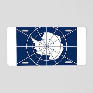 Flag of Antarctica Aluminum License Plate
