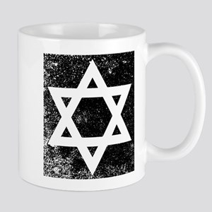 Star of David Half Tone Mugs