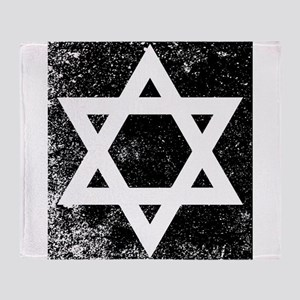 Star of David Half Tone Throw Blanket