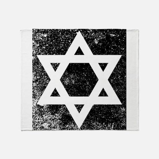 Star of David Half Tone Throw Blanket