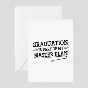 Part Of My Master Plan Greeting Card