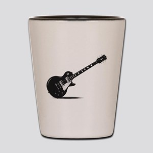 Half Tone Electric Guitar Shot Glass