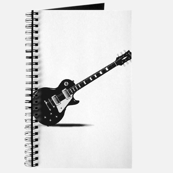 Half Tone Electric Guitar Journal