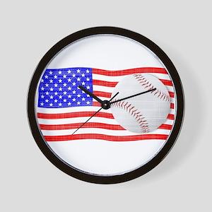Baseball Season Wall Clock