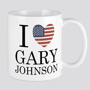 I Love Gary Johnson Mug