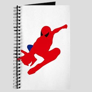 Spiderman pose art Journal