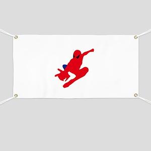 Spiderman pose art Banner