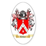 Telfair Sticker (Oval 50 pk)
