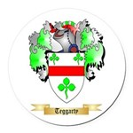 Teggarty Round Car Magnet