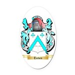 Teeven Oval Car Magnet