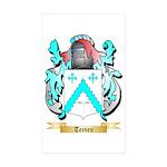Teeven Sticker (Rectangle 50 pk)