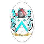 Teeven Sticker (Oval)