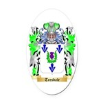 Teesdale Oval Car Magnet