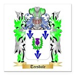 Teesdale Square Car Magnet 3