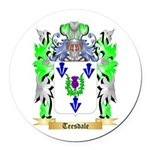 Teesdale Round Car Magnet