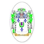 Teesdale Sticker (Oval 50 pk)