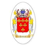 Tebbutt Sticker (Oval 50 pk)