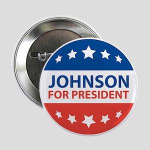 "Johnson For President 2.25"" Button"