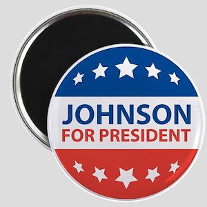 Johnson For President Magnets