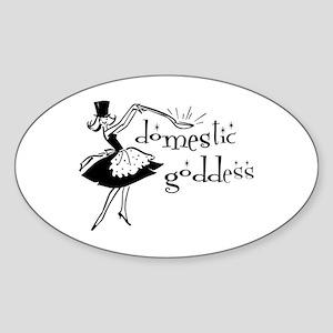 Domestic Goddess Sticker