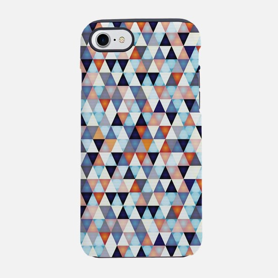 Abstract mosaic triangles co iPhone 8/7 Tough Case