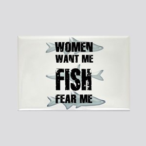FISH FEAR ME Magnets
