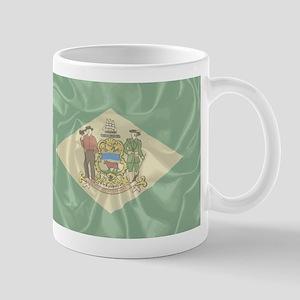 Silk Flag of Delaware Mugs