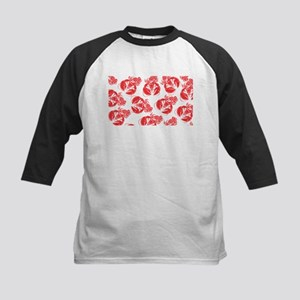 lobster print Baseball Jersey