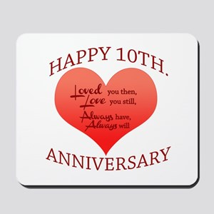 10th. Anniversary Mousepad