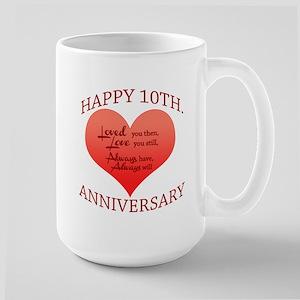 10th. Anniversary Mugs