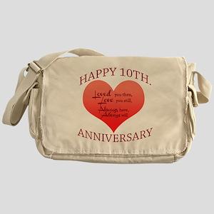 10th. Anniversary Messenger Bag