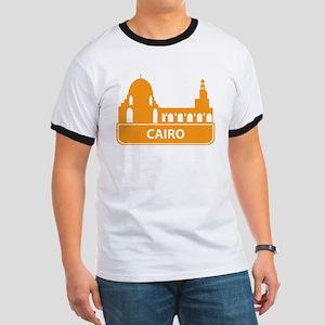 National landmark Cairo silhouette T-Shirt