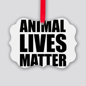 Animal Lives Matter Ornament